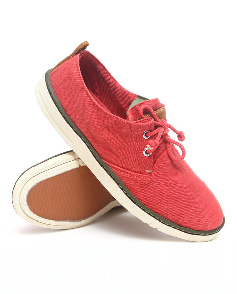 226bf6d8326 Timberland - Men Red Earthkeepers Hookset Handcrafted Fabric Oxford Sneakers